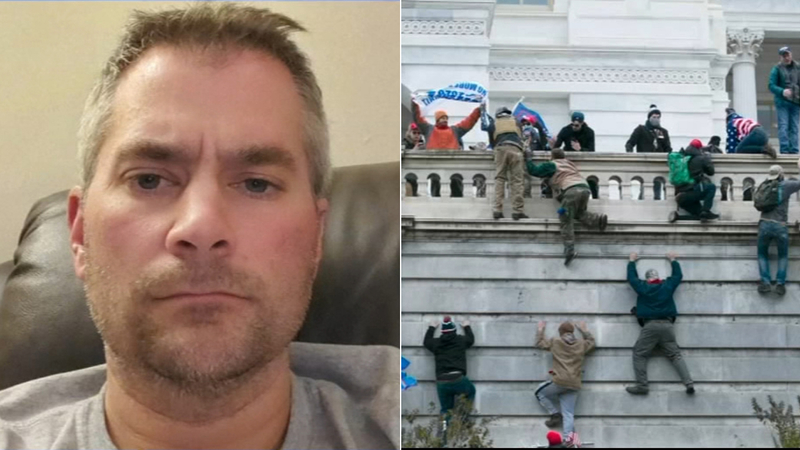 Brian D. Sicknick, a Capitol Hill police officer was killed in an incident at the capitol building